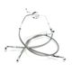 Stainless XR Extreme Response Front Brake line Kit w/o ABS - +14