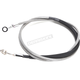 Clear Coated Stainless XR Hydraulic Clutch Line - +4
