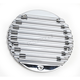 16 Finned, 5 Hole Chrome Derby Cover - C1077-C
