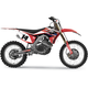 Red/Black/White EVO15 Graphics Kit  - 21-01306