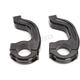 Black Contour Handguard Inner Mount Clamp for 1-1/8 in. Bars - 0635-1499