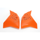 KTM Orange Radiator Shrouds - 2081990237