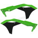 Green/Black Radiator Shrouds - 2630611089