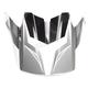Black/White/Gray Visor for CS-MX II Dakota MC-10 Helmet - 328-709