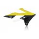 Yellow/Black Radiator Shrouds - 2686491017