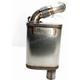 Stainless Steel Full Velocity Muffler - 02-126-SS