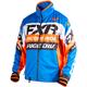 Blue/Orange/Black/White Cold Cross Race Ready Jacket