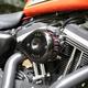 Gloss Black Mini Teardrop Stealth Air Cleaner Cover - 170-0367