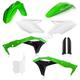 OEM 18 Green/Black/White  Full Replacement Plastic Kit - 2685825909