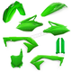 Green Full Replacement Plastic Kit  - 2685840006