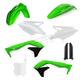 OEM 18 Green/Black/White Full Replacement Plastic Kit - 2685845909