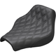 Black Renegade Lattice Stitch Solo Seat - 818-30-002LS