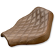 Brown Renegade Lattice Stitch Solo Seat - 818-30-002BLS