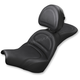 Black Explorer Seat w/Drivers Backrest  - 818-30-030