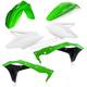 OEM 18 Green/White/Black Standard Plastic Kit - 2685815909