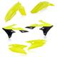 Fluorescent Yellow/Black Standard Plastic Kit  - 2686544310