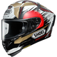 Black/Gold/White X-Fourteen Marquez Motegi 2 TC-1 Helmet