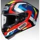 Red/Blue/White X-Fourteen Brink TC-1 Helmet