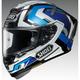 White/Blue X-Fourteen Brink TC-2 Helmet