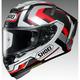 Silver/Black/Red X-Fourteen Brink TC-5 Helmet