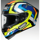 Hi-Vis/Blue X-Fourteen Brink TC-10 Helmet