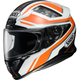 Orange/Black/White RF-1200 Parameter TC-8 Helmet