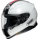 White/Black/Red RF-1200 Flagger TC-6 Helmet