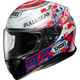 Red/White/Blue RF-1200 Marquez Power Up TC-1 Helmet