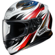 White/Red RF-1200 Incision TC-1 Helmet