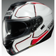 White/Red/Black GT-Air Pendulum TC-6 Helmet
