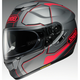 Gray/Black/Red GT-Air Pendulum TC-10 Helmet