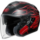 Black/Red J-Cruise Reborn TC-1 Helmet