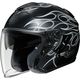 Black/Gray J-Cruise Reborn TC-5 Helmet