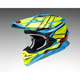 Yellow/Blue VFX-EVO Glaive TC-2 Helmet