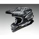 Gray/Black/White VFX-EVO Glaive TC-5 Helmete