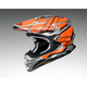 Orange/Gray/Black VFX-EVO Glaive TC-8 Helmet