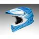 Matte Blue/White VFX-EVO Zinger TC-2 Helmet