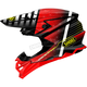 Red/Black/White VFX-EVO Blazon TC-1 Helmet