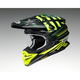 Black/Yellow/Green VFX-EVO Grant 3 TC-3 Helmet