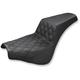 Black Drivers Seat Diamond Pattern LS-Step Up Seat - 818-30-172