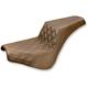 Brown Drivers Seat Diamond Pattern LS-Step Up Seat - 818-30-172BR