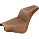Brown Passengers Seat Diamond Pattern LS-Step Up Seat - 818-30-173BR