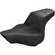 Black Passengers Seat Diamond Pattern LS-Step Up Seat - 813-27-173