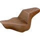 Brown Passengers Seat Diamond Pattern LS-Step Up Seat - 813-27-173BR