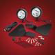 Black 3 1/2 in. Focus LED Light Kit - 41-302LBK