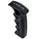 Black Milled Shifter Handle - 60-122-1