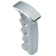 Silver Milled Shifter Handle - 60-122-4