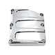 Chrome Scalloped Transmission Top Cover - 0203-2018-CH