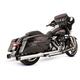 Chrome El Dorado True Dual w/Tracer End Caps - 550-0701A