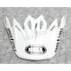 White/Black Visor for Moto-9 Mips Fasthouse Helmets - 7093242